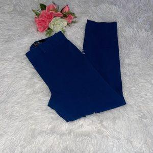 Gap slim crop pants blue size 6
